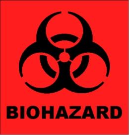 The biohazard symbol