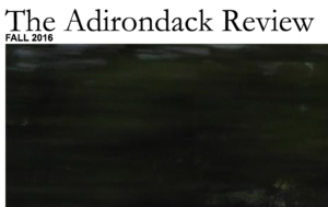"The Adirondack Review logo, published as part of: ""3 New Poems About Western Living"""