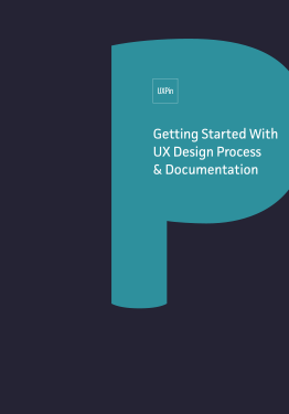 "The cover of my pocket guide ""Getting Started with UX Design Process & Documentation"""