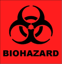 The biohazard symbol