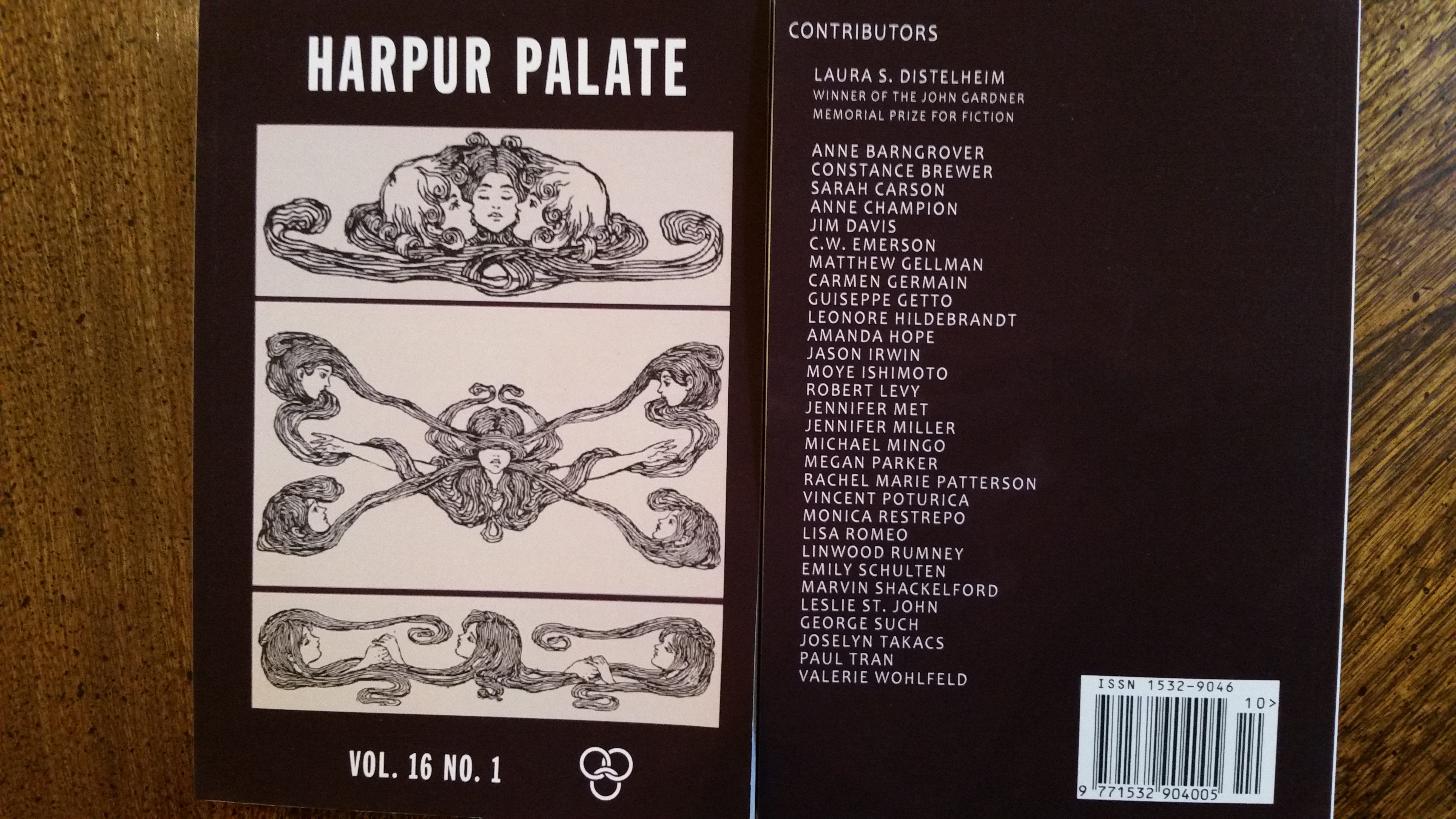 A Poem About the Founding of America in Harpur Palate